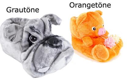 Tierhausschuhe lustige und witzige Tier Hausschuhe