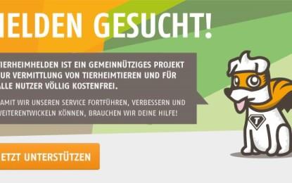 Crowdfunding Kampagne – Tierheimhelden bitten um Mithilfe