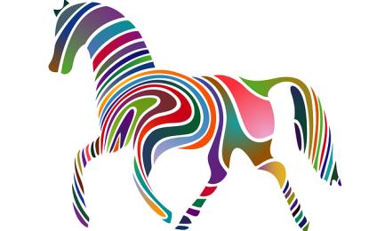 Pferd tapen – kinetische Tapes bei Pferden einsetzen