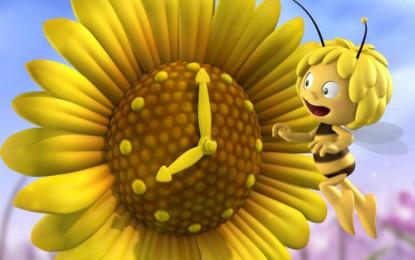 Wie die Biene zur Blume kommt