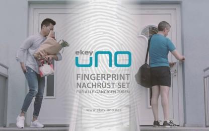 Haustür mit ekey uno Fingerprint und Nuki Smart Lock nachrüsten