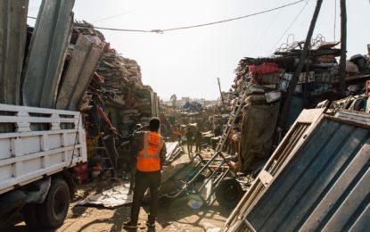 Umweltschutz aufgrund von Ressourcen-Schutz. Die Schrottabholung Dinslaken & Mischschrott Recycling