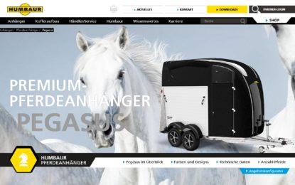 Neue Luxus-Pferdeanhänger Modellreihe mit drei Varianten