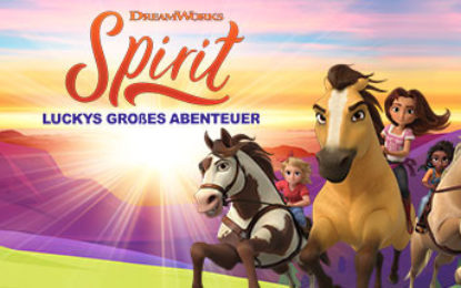 Dreamworks Spirit: Luckys groẞes Abenteuer
