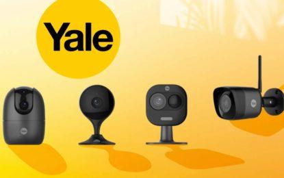 Yale bringt neue, elegante Kameras für den Innen- und Außenbereich auf den Markt